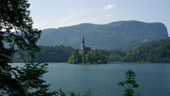 Bled a Bledské jezero, Slovinsko