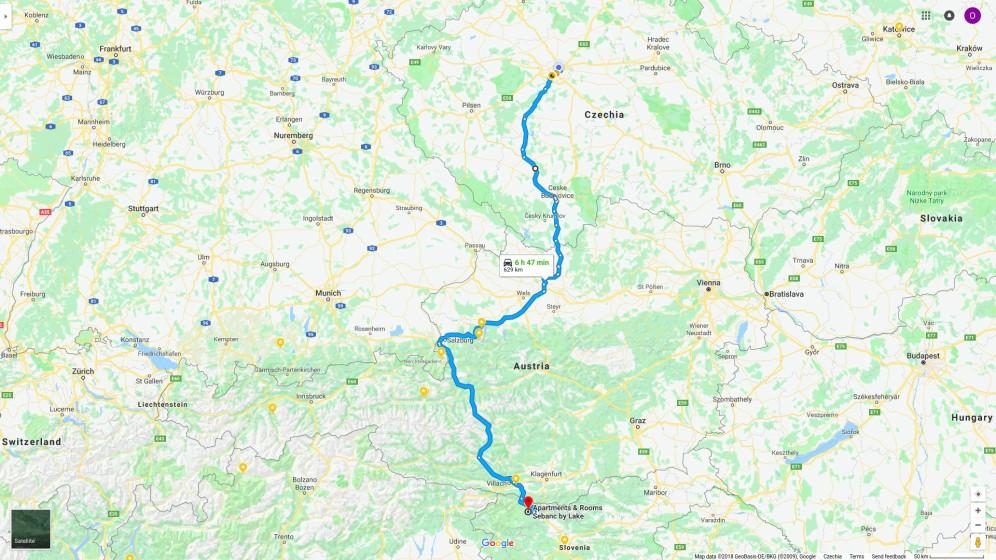 Praha-Bled