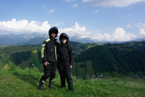 Směrem k Transfagarasanu, Rumunsko