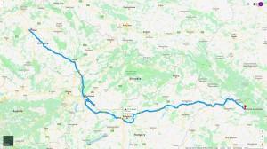 Z Prahy do Rumunska