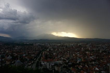 Prizren po bouřce, Kosovo