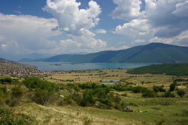 Prespanské jezero, Albánie