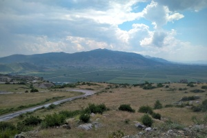 Cesta v Albánii
