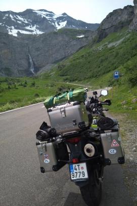 Cesta na Klausen Pass