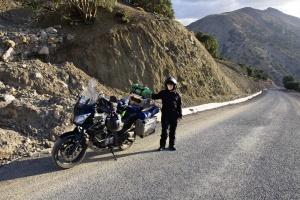 Na cestě k jezeru Tislit