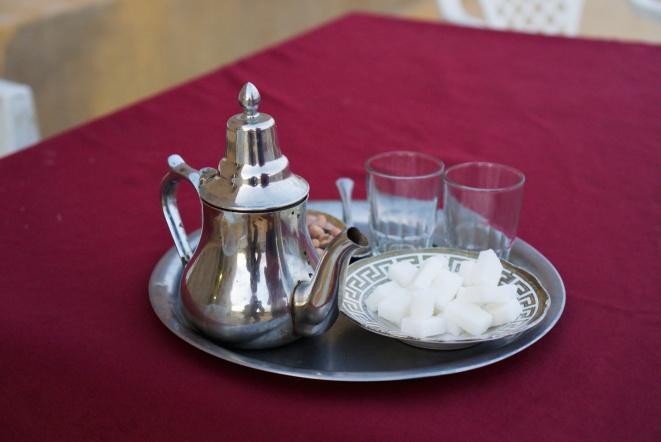 Tradiční marocký čaj
