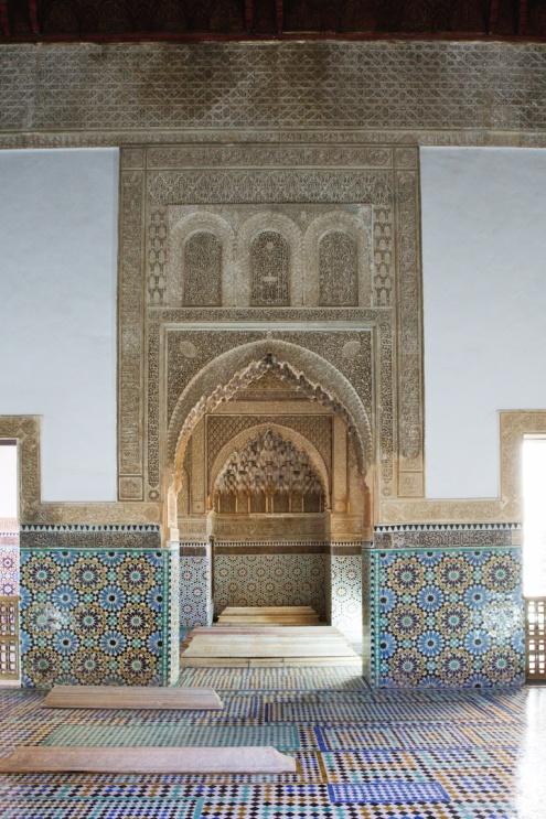 Saadské hrobky, Marrákeš