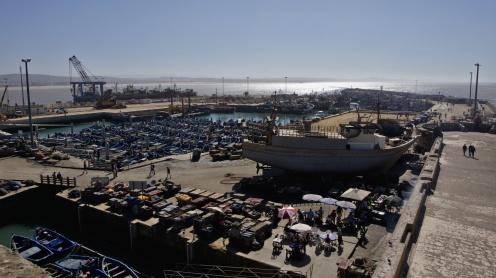 Rybářský přístav, Essaouria