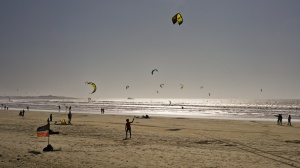 Kitesurfeři, Essaouria