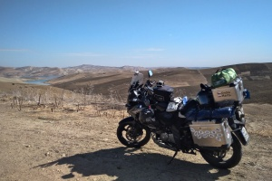 První pohled na jezero Barrage Sidi Chahed